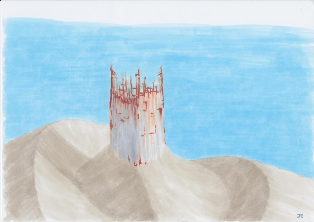 Sand Tower by Raeffi