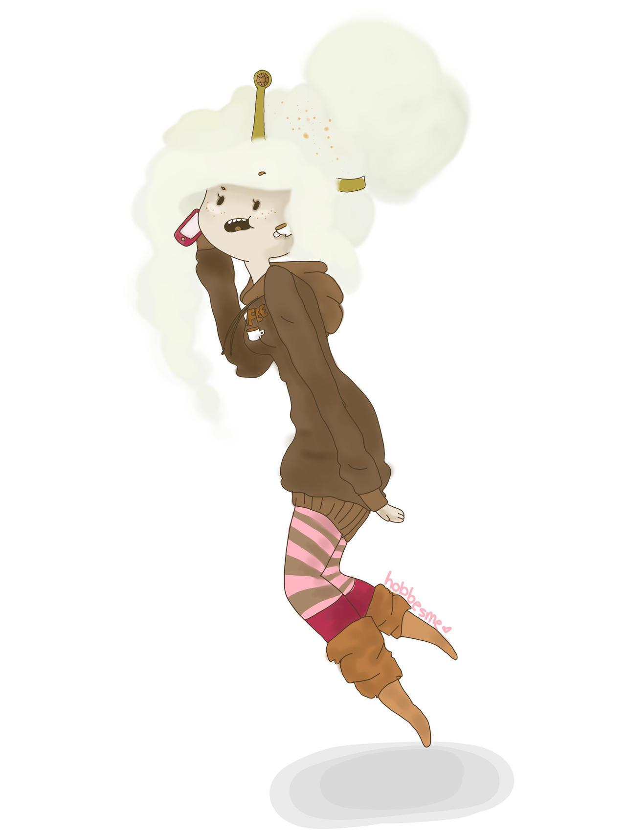 Coffee Princess: Casual by hobbesme