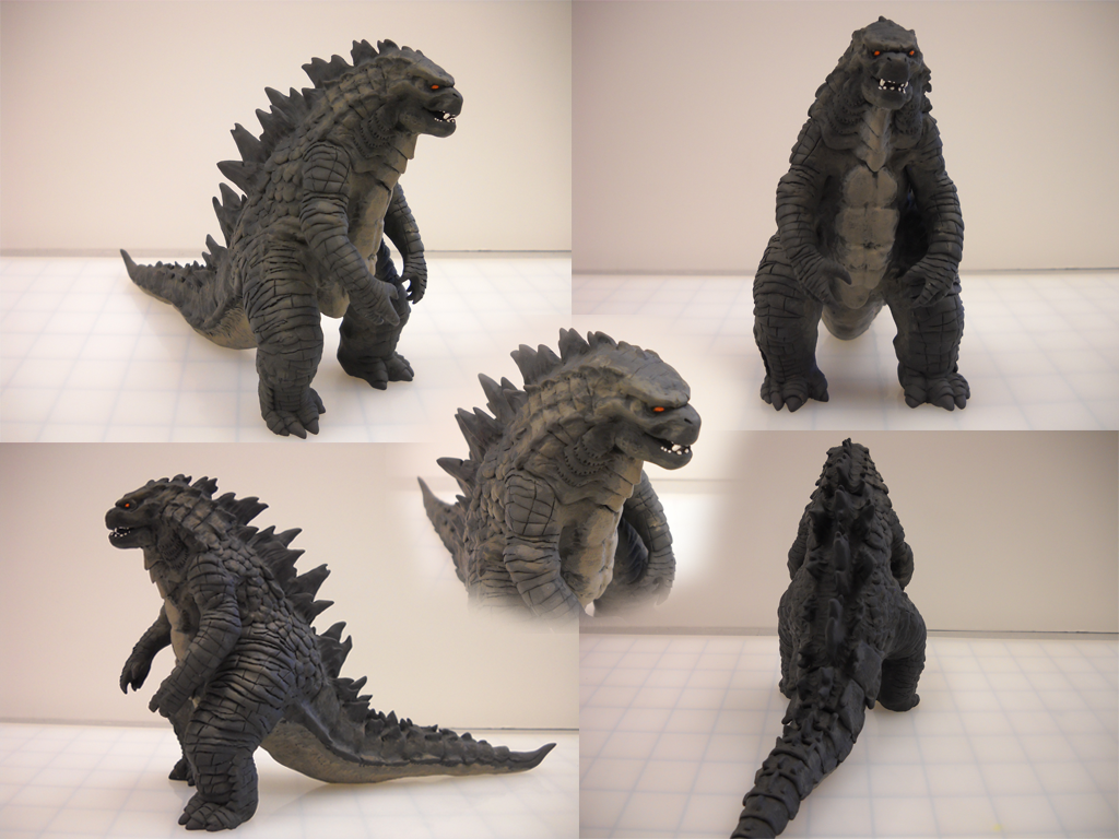 My Godzilla 2014 Sculpt Godzilla Fan Works Forum