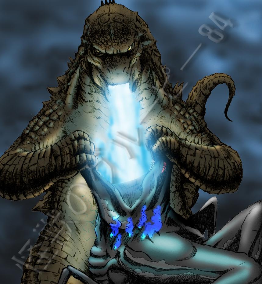 Godzilla 2 Imax Poster Textless: Kaijugroupie84 (Aaron DeWyer)