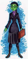 Wicked Fanart: Elphaba by Moxee