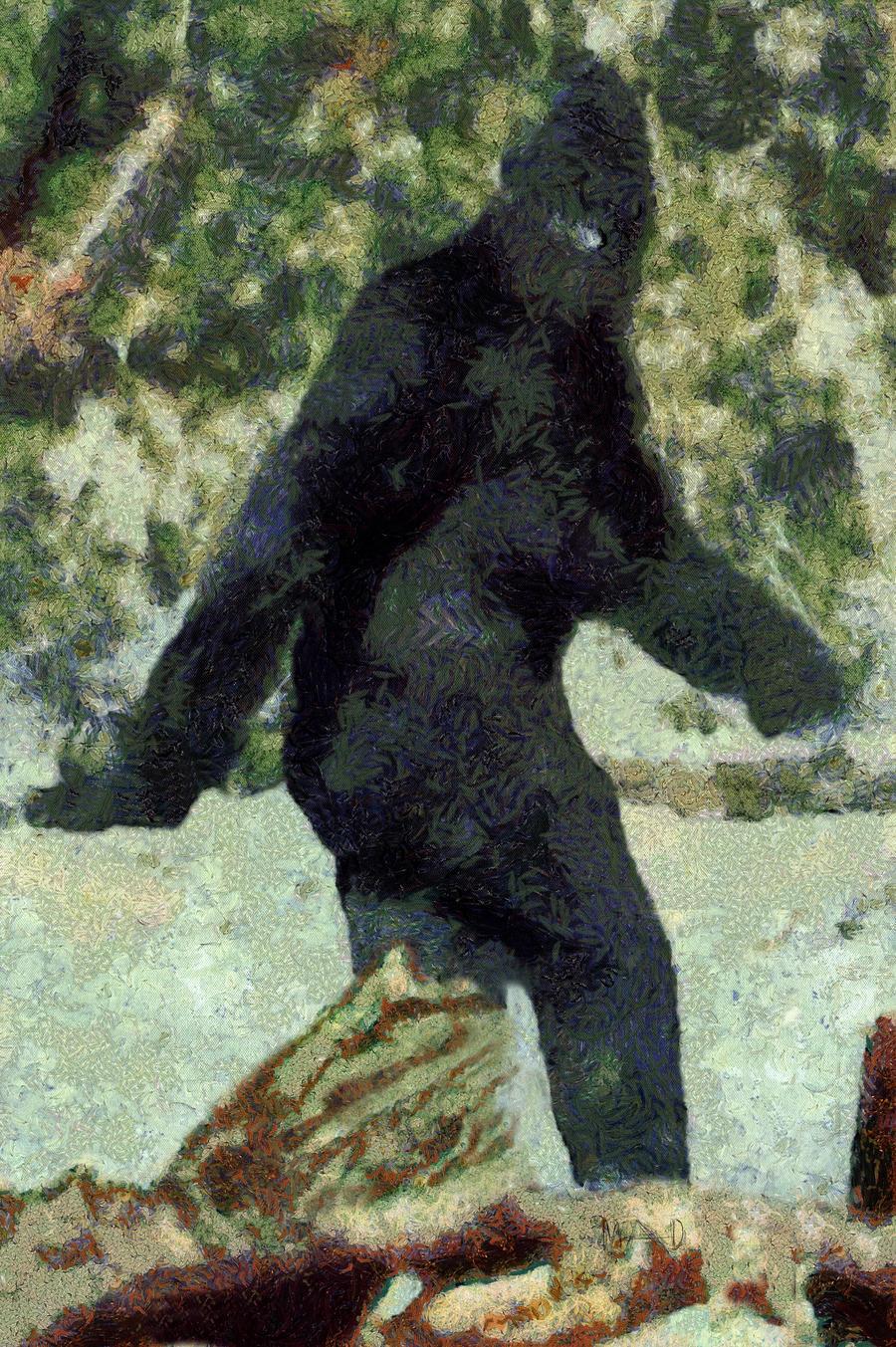 Bigfoot by troglow