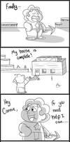 Steven Teaches Connie Minecraft