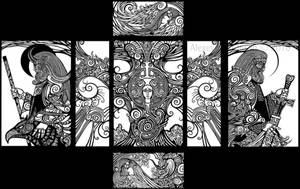 Slavic mythology by ABakhtiozin