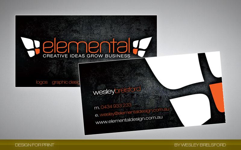 Elemental Business Card By Elementaldesign