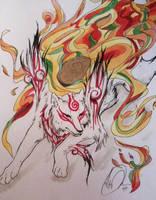 Shiranui Amaterasu by kennyfrikkindied