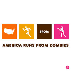 America Runs From Zombies (DD Alt)