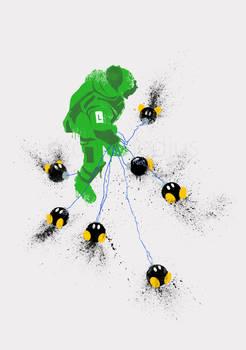 Luigi's Hurt Locker