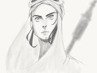 Daily Sketch - 3.4.16 by Archymedius