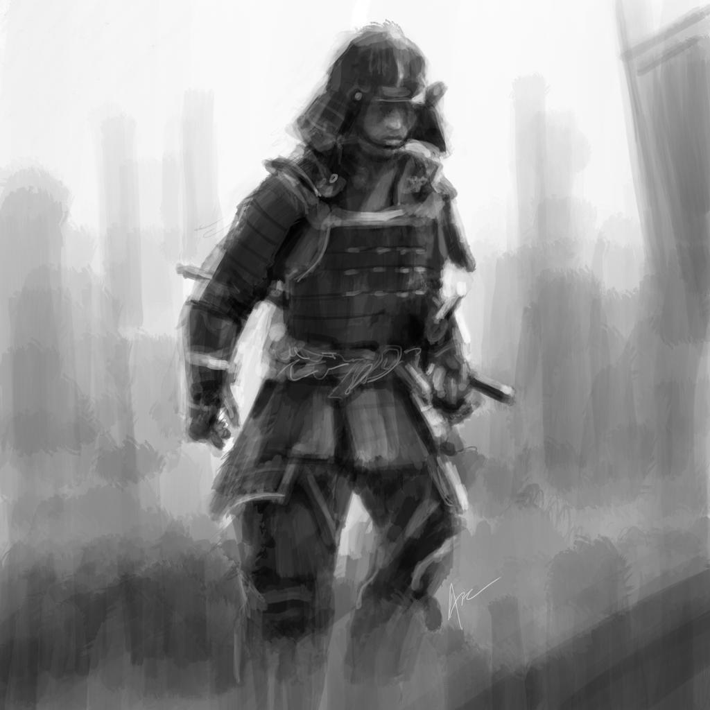 Samurai by Archymedius