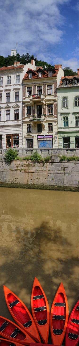 Slice of Ljubljana by enci