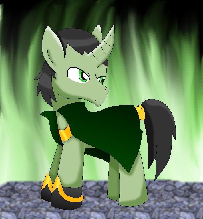 pony loki by cartoonfan88