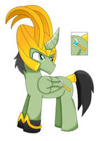 pony loki 2 by cartoonfan88