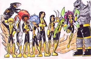 New X-Men- Gangs' all here