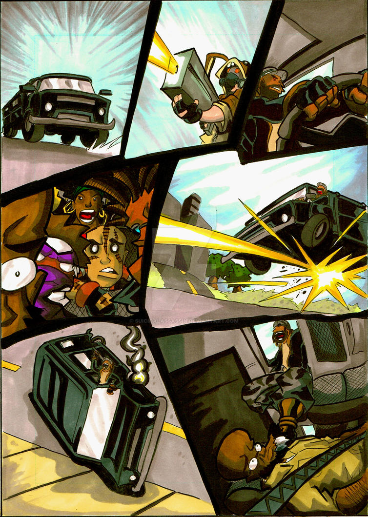 BlackGuard Psycho Therapy pg 9 by suicidalassassin