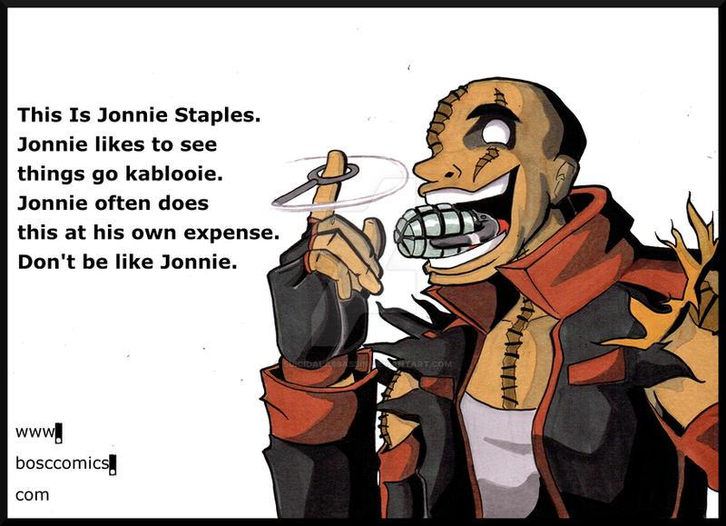 Be Like Jonnie by suicidalassassin