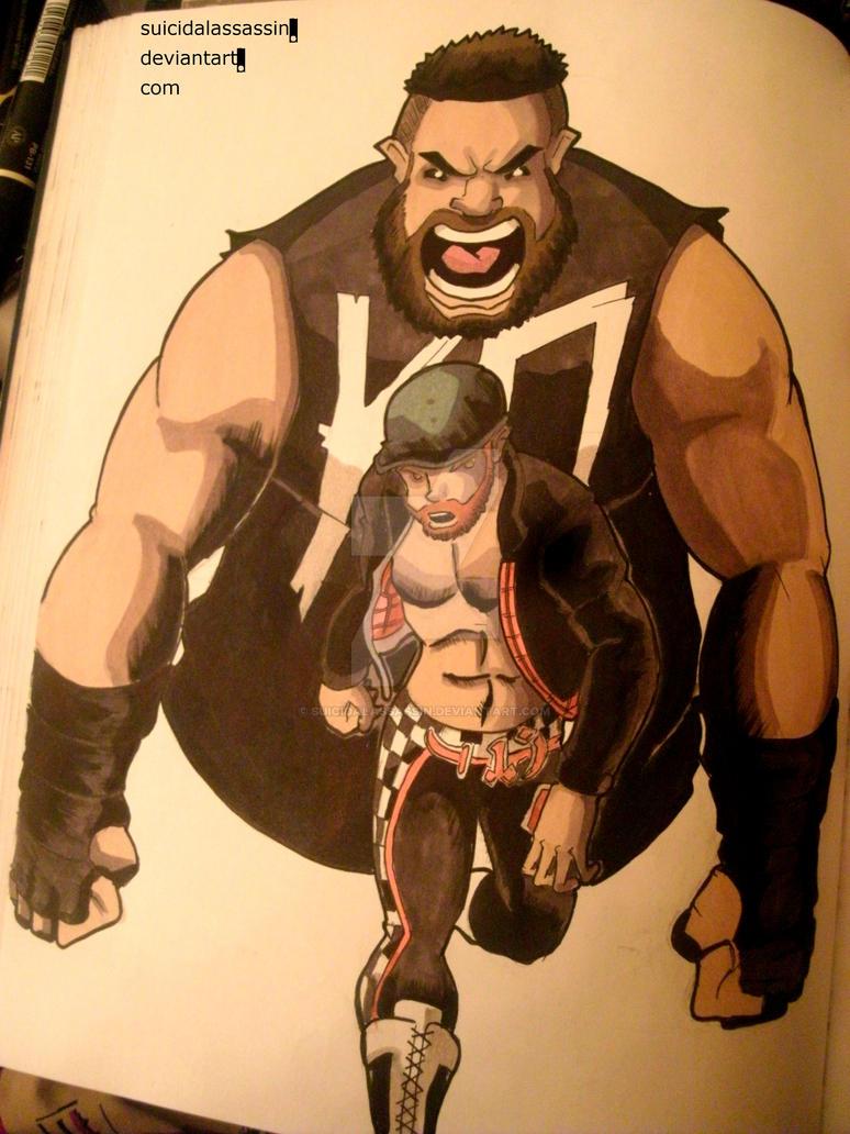 Owens vs Zayn by suicidalassassin