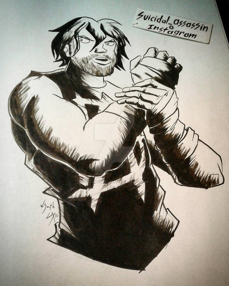 INKTOBER entry 31: Ambrose by suicidalassassin