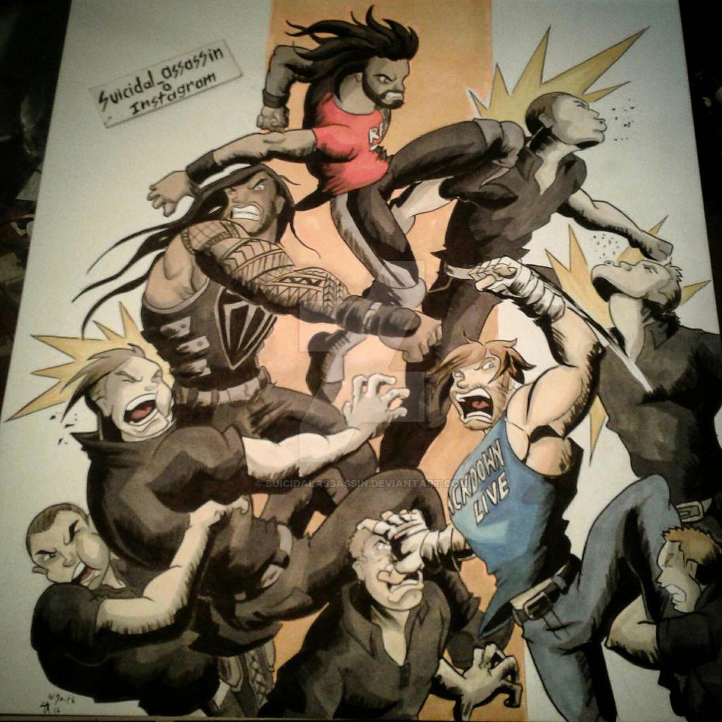 The Shield Reunite by suicidalassassin