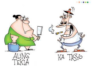 Aling Tekla and Ka Tasyo by freetoons
