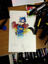 new batgirl by freetoons