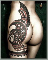 Eagle Totem by blackhearted