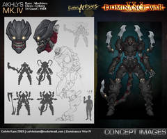 Akhlys Mk. IV Concept Images by darthrith