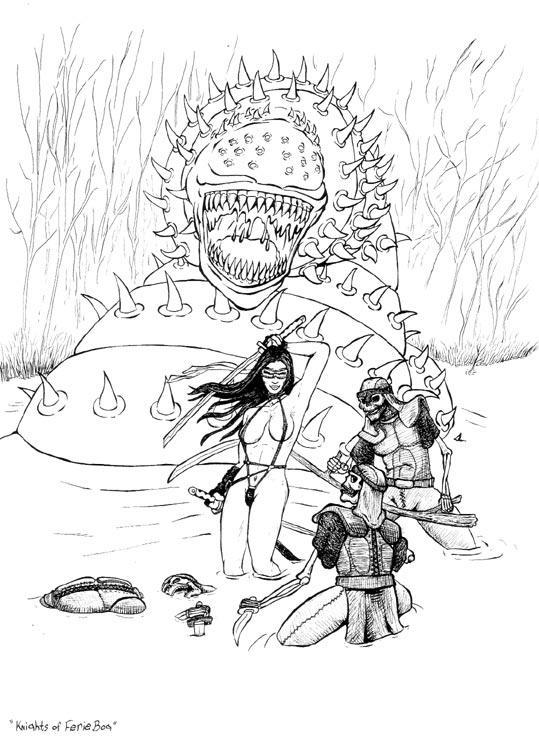 hoo The Knights of Eerie Bog