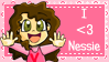 I  -heart- Nessie Stamp by Leneeh