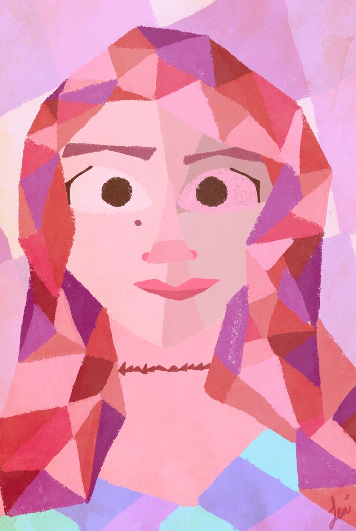 Self Portrait McLane by Leneeh