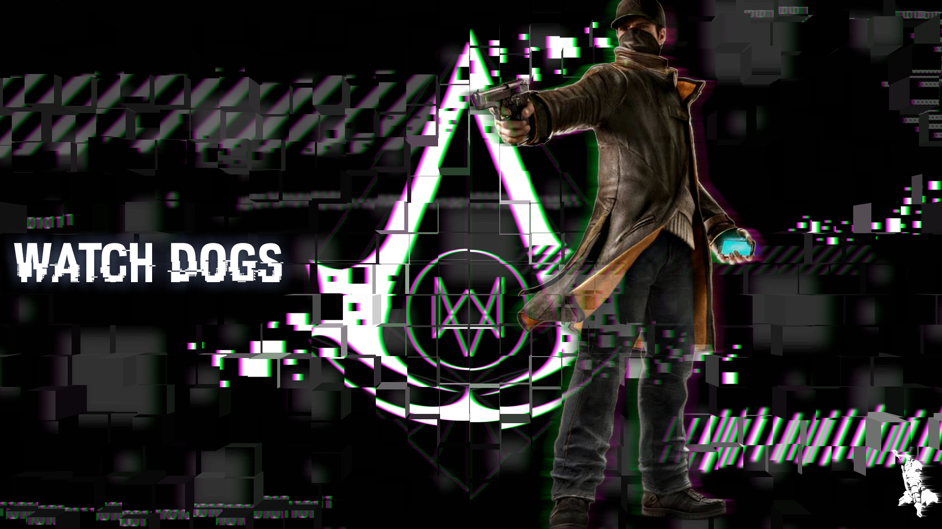 Wallpaper Fhd Aiden Pearce Watch Dogs By Jhardy2010 On