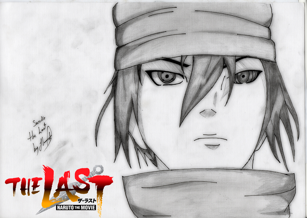 Sasuke From The Last: Naruto Movie | Drawing by Jhardy2010 ...
