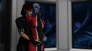 A Shepard and Liara legacy
