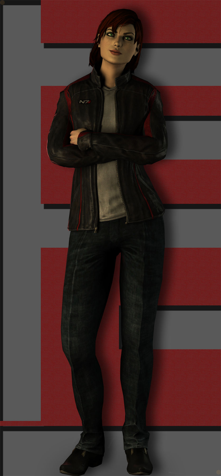 Femshep N7 Leather jacket by neehs