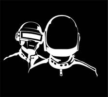 Daft Punk Black Background by The-Mooinator