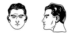 Comic face design