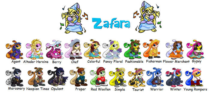 Zafara Clothing Sets