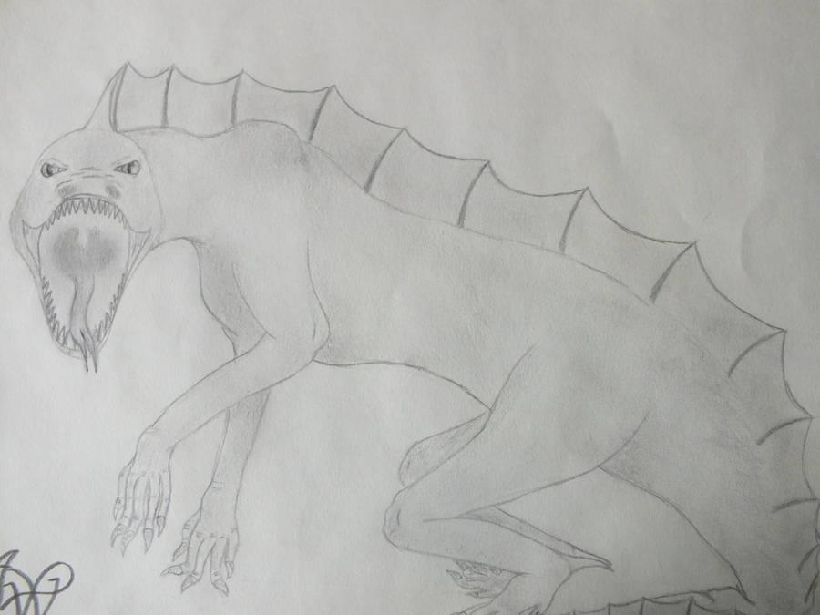 Demon_Lizard by XxRakichixX