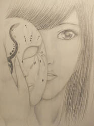 hiding behind a mask by XxRakichixX