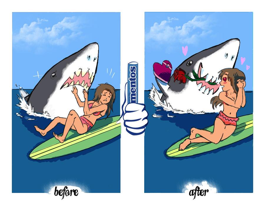Gettin' Fresh Shark by Los-Chainbird
