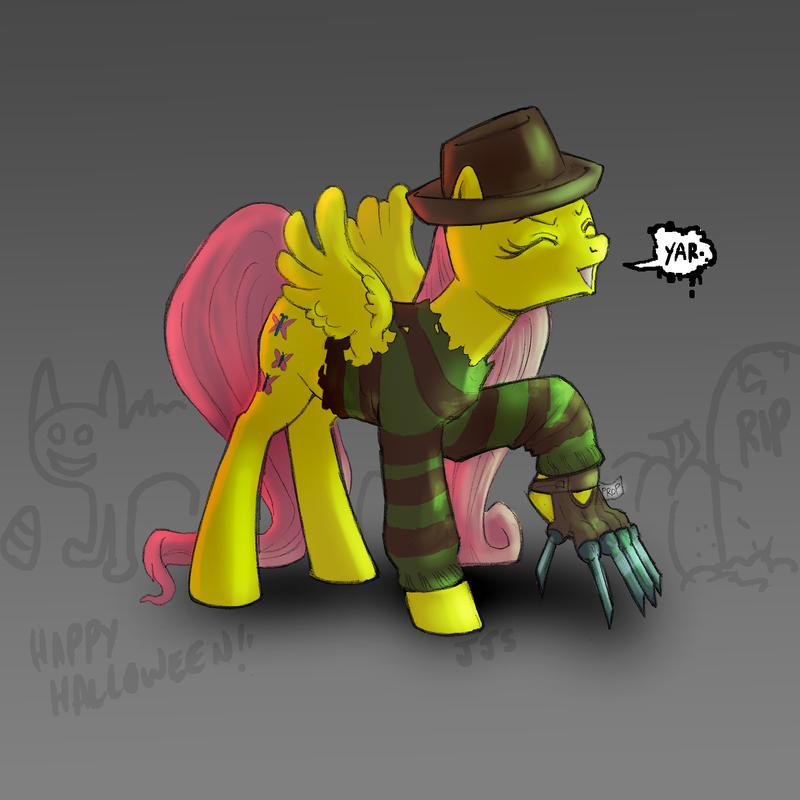 Kruegershy Halloween Pony by Los-Chainbird