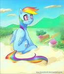 Rainbow Dash speedpaint