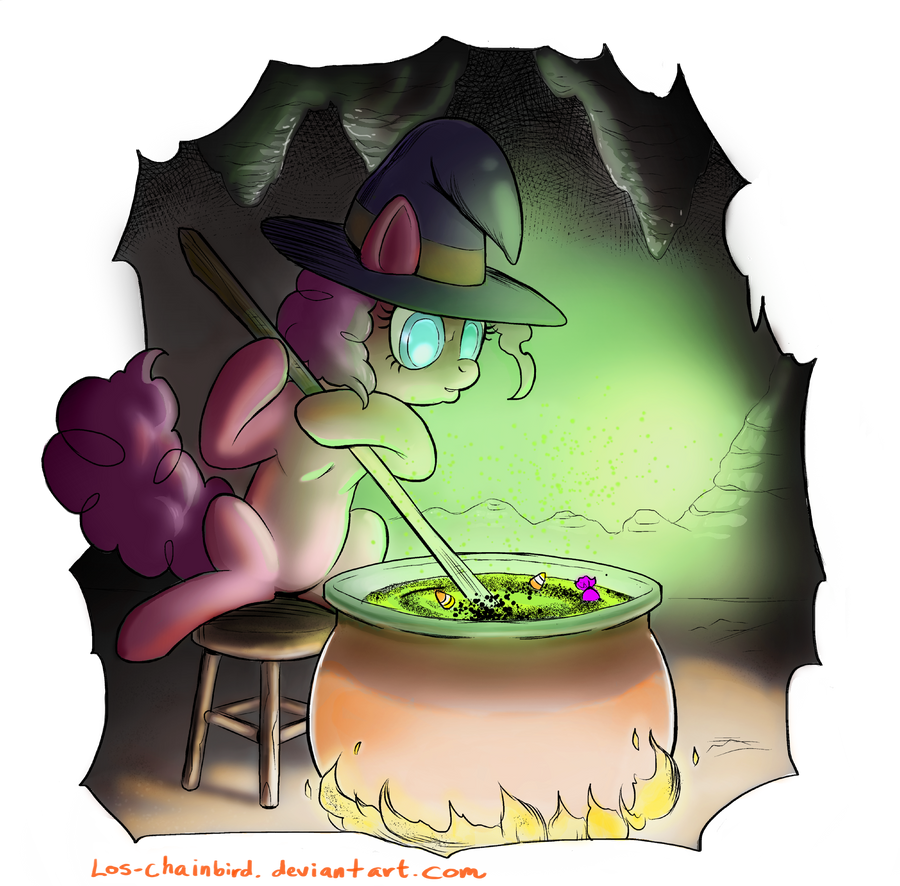 Silly Halloween Pony by Los-Chainbird