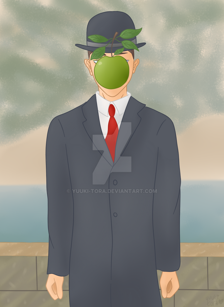 Rene Magritte The Son Of Man Surrealism Magritte So...