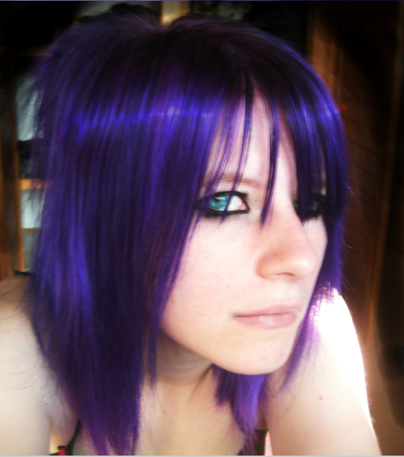Purple Hair By Trashytrinket On Deviantart