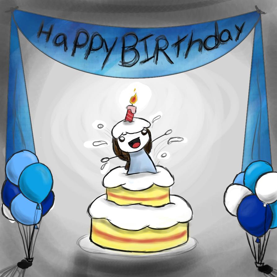 Happy Birthday by LeFancyWalrus on DeviantArt