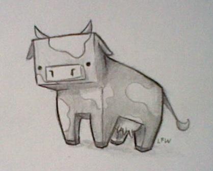 Cow by Le-Fancy-Walrus