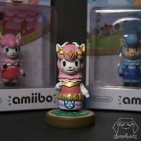 Animal Crossing Reese - Legend of Zelda version by Sbarabaus
