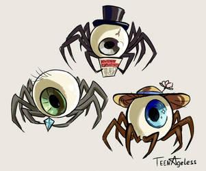 Eyespiders by TeenAgeteem