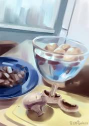 mushrooms by TeenAgeteem